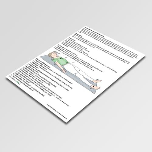 Progressive Muscle Relaxation Worksheet