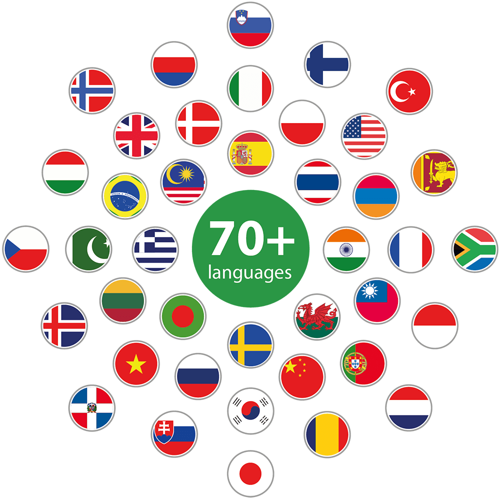 Psychology Tools publishes resources in over 70 languages